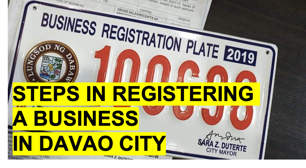 Steps in business registration and securing business permit in Davao City