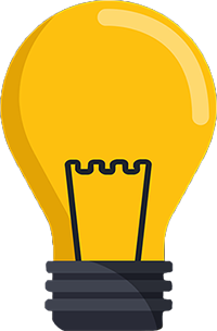 light bulb yellow